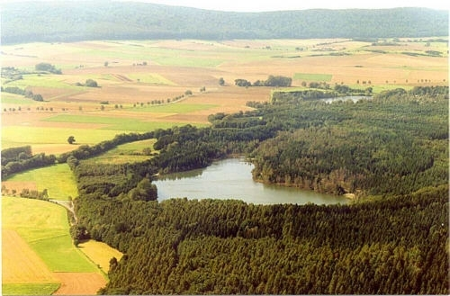 Der Bruchsee bei Duingen