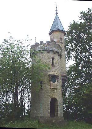 Wartturm nahe Bosseborn/Höxter Der Bismarckturm (Wartturm) nahe Bosseborn um 1900 errichtet.