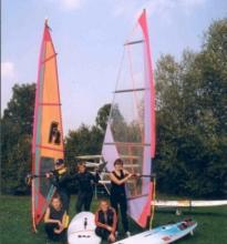 Einige Surfer des NWSC e.V.
