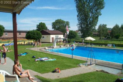Blick ins Freibad in Markoldendorf