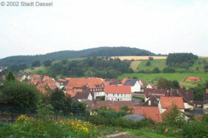 Blick auf Lauenberg