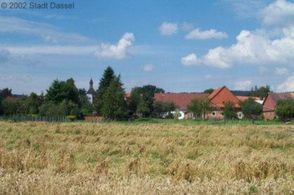 Blick auf Lüthorst