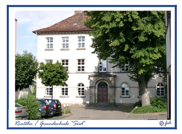 Rinteln - Die Grundschule Sued in der Schulstrasse