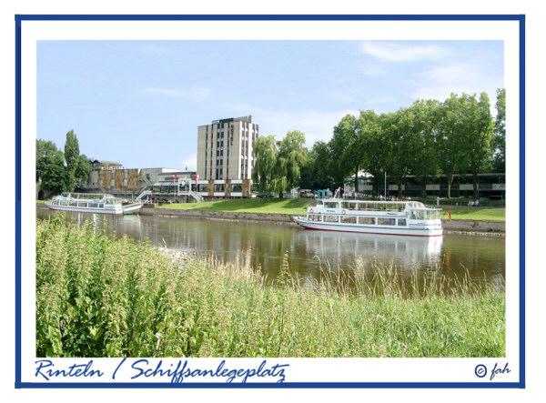 Rinteln - Anlegestelle der Weserdampfer