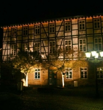 Bürgerhaus Rinteln. Heute Standesamt, Stadtarchiv und Touristinformation.