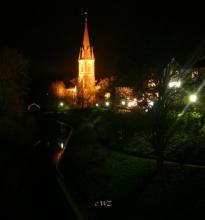 St.Sturmius am Abend. (Rinteln)