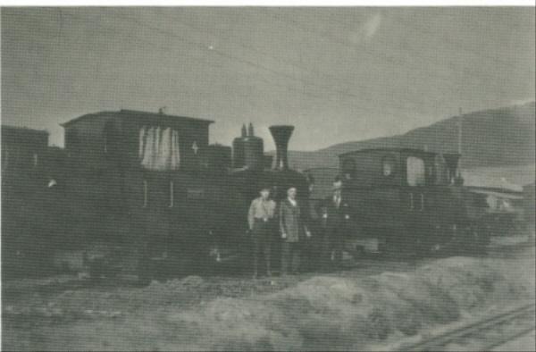Ein Bild von der alten Rintelner Bergbahn, 1936