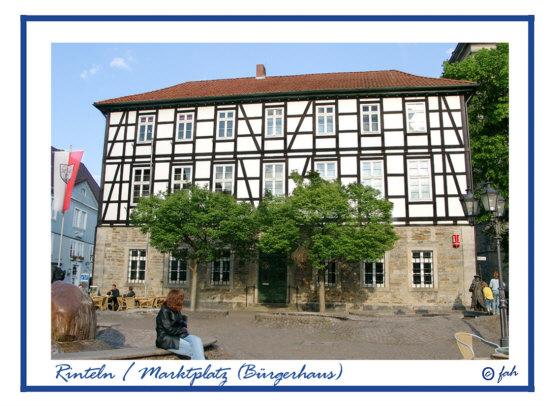 Rinteln / Buergerhaus am Markt