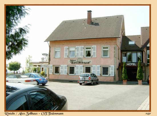 Rinteln Altes Zollhaus in Todenmann
