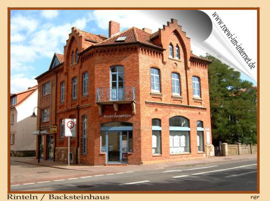Rinteln Dieses Backsteinhaus befindet sich in Rinteln , Klosterstr. Ecke Krankenhäger Strasse