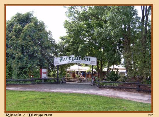 Rinteln Biergarten direkt am Weser-Rad & Wanderweg gelegen