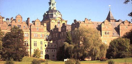 Das Schloß in Bückeburg