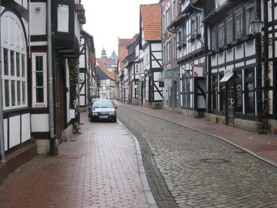Alte Marktstraße in Hameln