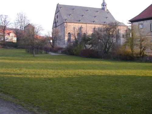 Lamspringe mit Blick auf die barocke Klosterkirche