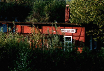 Der alte Bahnhof in Würgassen