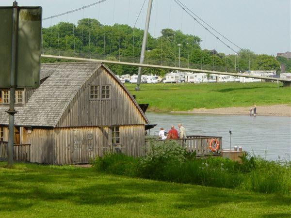 Wassermühle am Weserufer U. Rieger