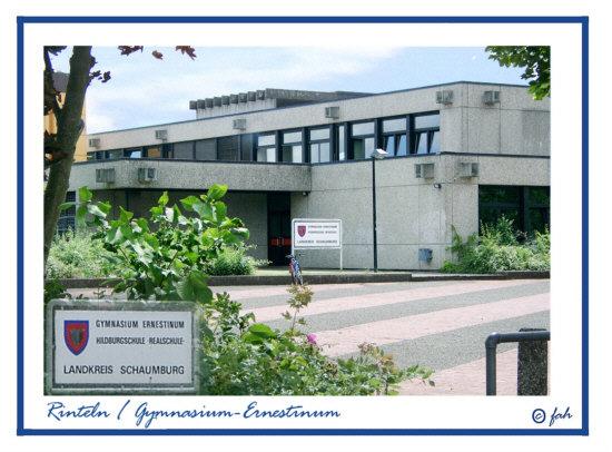 Das Gymnasium - Ernestinum in Rinteln