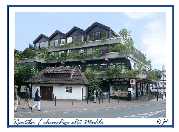 Rinteln - Die ehemalige alte Mühle