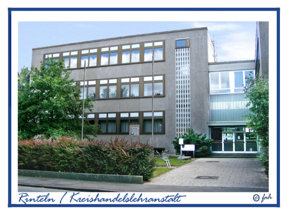 Rinteln - Die Kreishandelslehranstalt in der Dauestraße