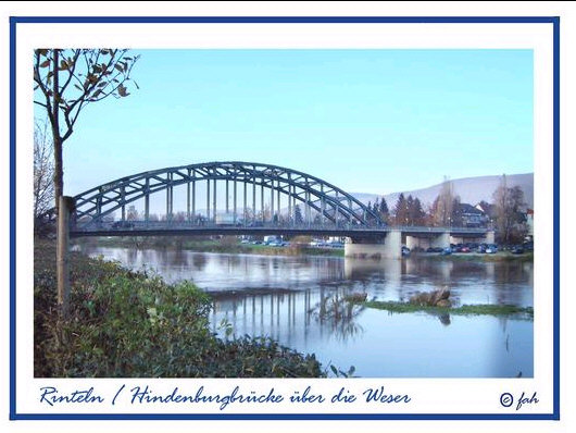 Rinteln / Weserbruecke