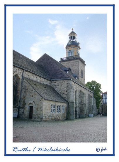 Rinteln Nicolaikirche